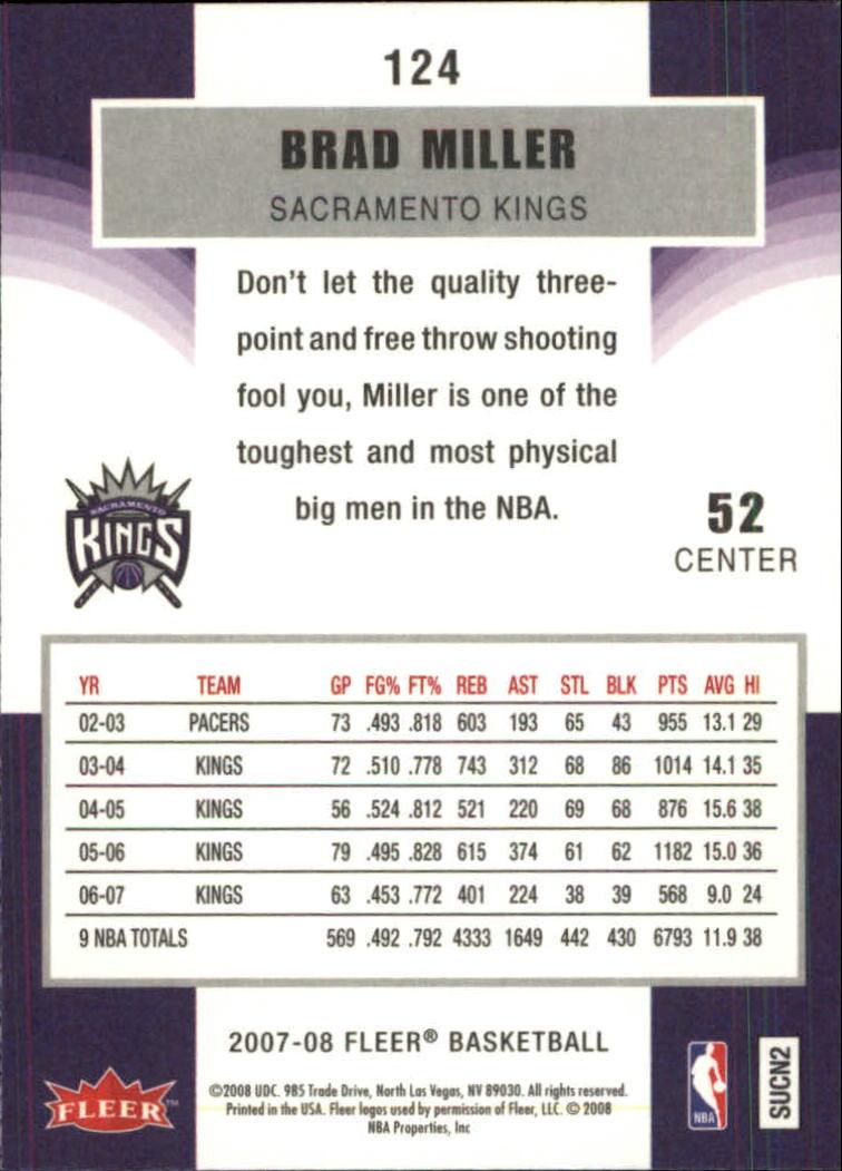 2007-08-Fleer-Basketball-1-250-Your-Choice-GOTBASEBALLCARDS thumbnail 223