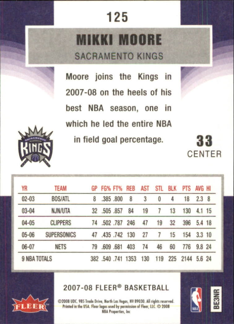 2007-08-Fleer-Basketball-1-250-Your-Choice-GOTBASEBALLCARDS thumbnail 225