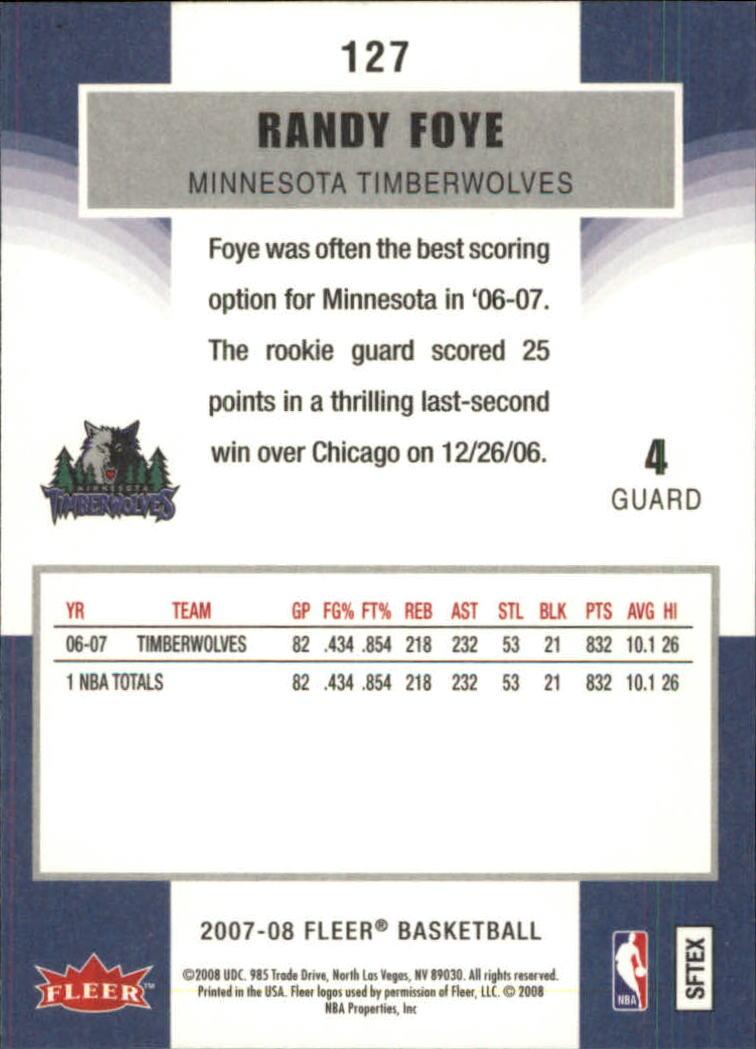 2007-08-Fleer-Basketball-1-250-Your-Choice-GOTBASEBALLCARDS thumbnail 229
