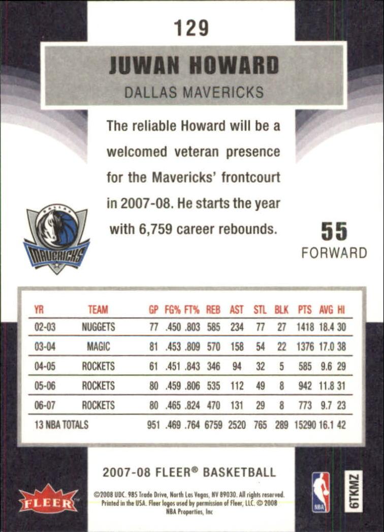 2007-08-Fleer-Basketball-1-250-Your-Choice-GOTBASEBALLCARDS thumbnail 233