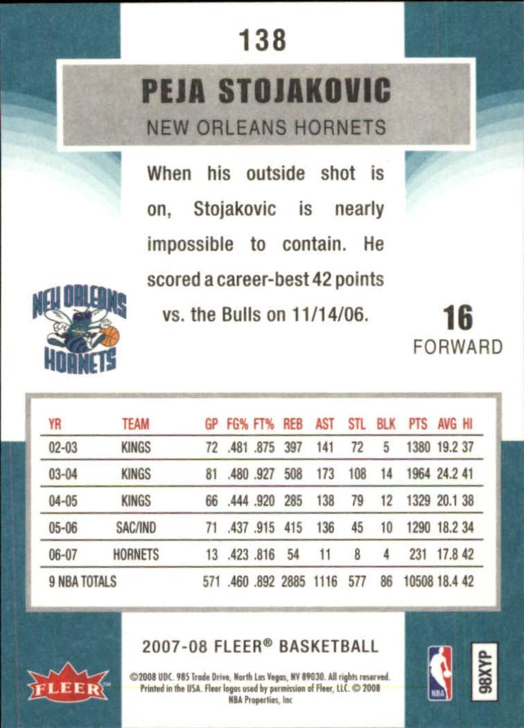 2007-08-Fleer-Basketball-1-250-Your-Choice-GOTBASEBALLCARDS thumbnail 249