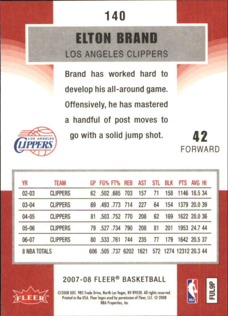 2007-08-Fleer-Basketball-1-250-Your-Choice-GOTBASEBALLCARDS thumbnail 253