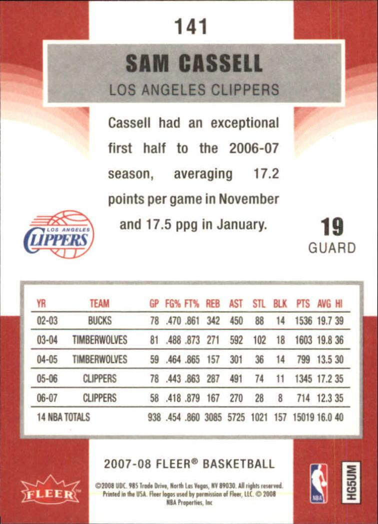 2007-08-Fleer-Basketball-1-250-Your-Choice-GOTBASEBALLCARDS thumbnail 255