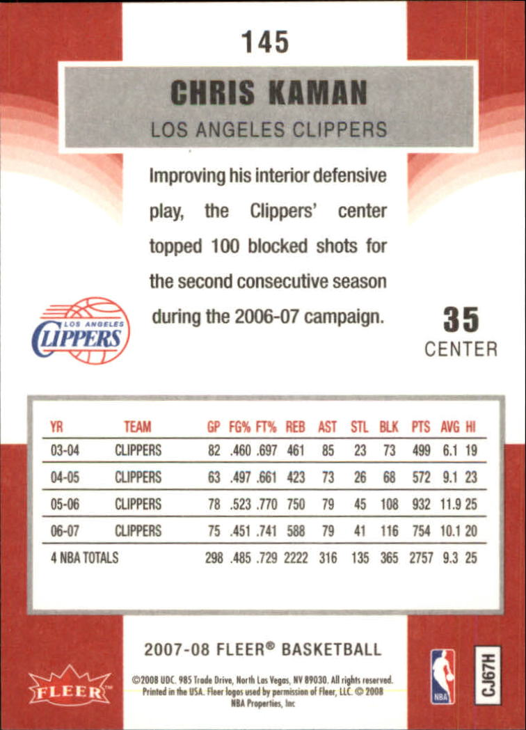 2007-08-Fleer-Basketball-1-250-Your-Choice-GOTBASEBALLCARDS thumbnail 261