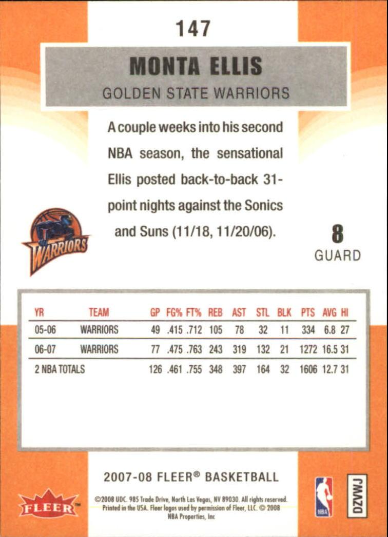 2007-08-Fleer-Basketball-1-250-Your-Choice-GOTBASEBALLCARDS thumbnail 263