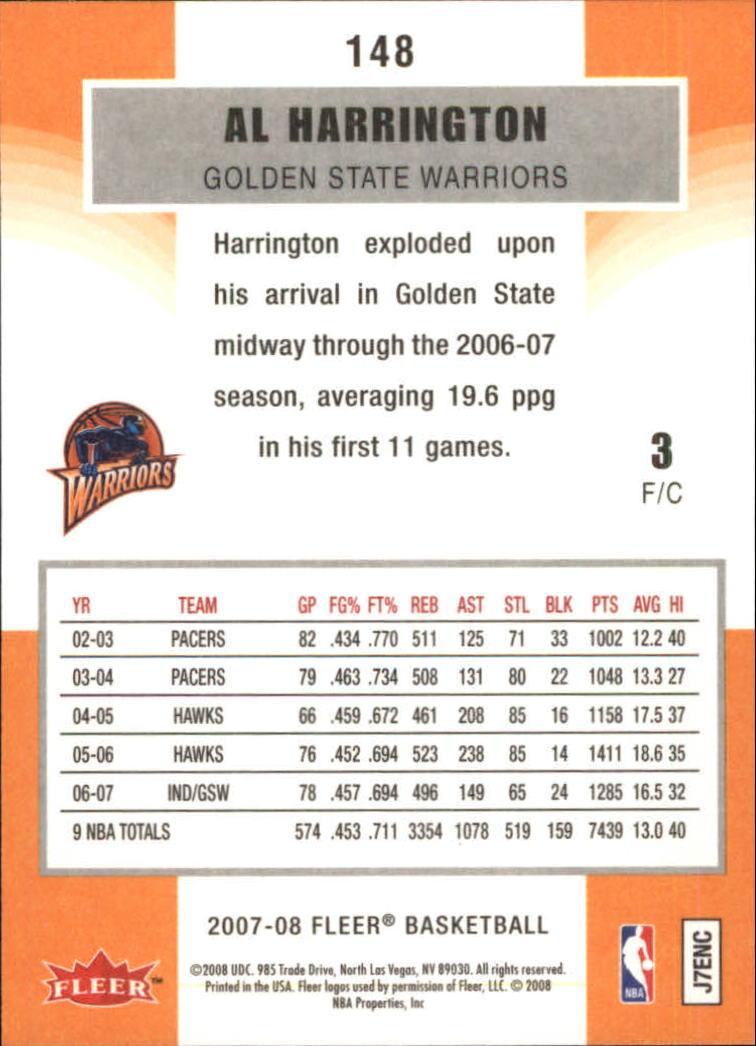 2007-08-Fleer-Basketball-1-250-Your-Choice-GOTBASEBALLCARDS thumbnail 265