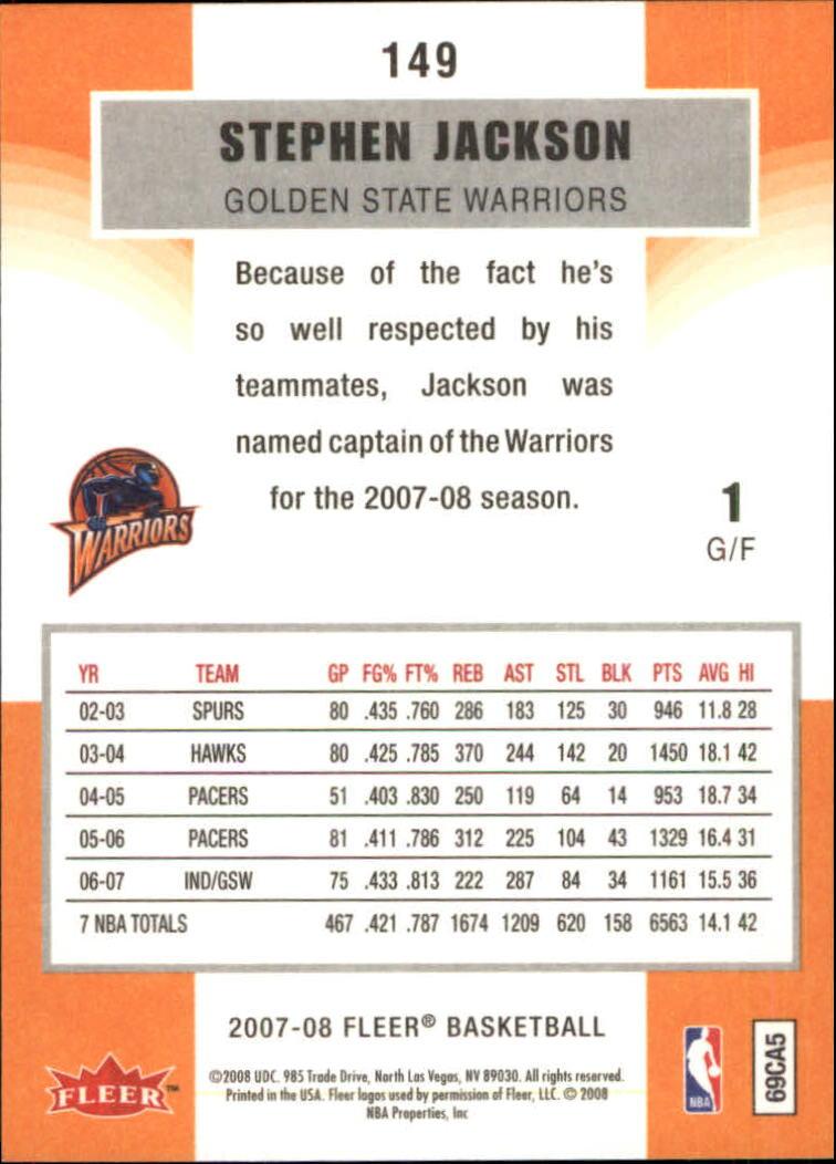 2007-08-Fleer-Basketball-1-250-Your-Choice-GOTBASEBALLCARDS thumbnail 267