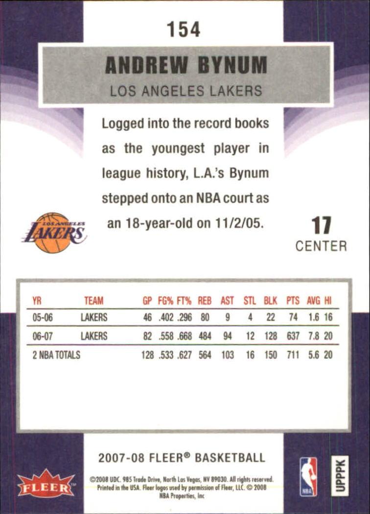2007-08-Fleer-Basketball-1-250-Your-Choice-GOTBASEBALLCARDS thumbnail 277
