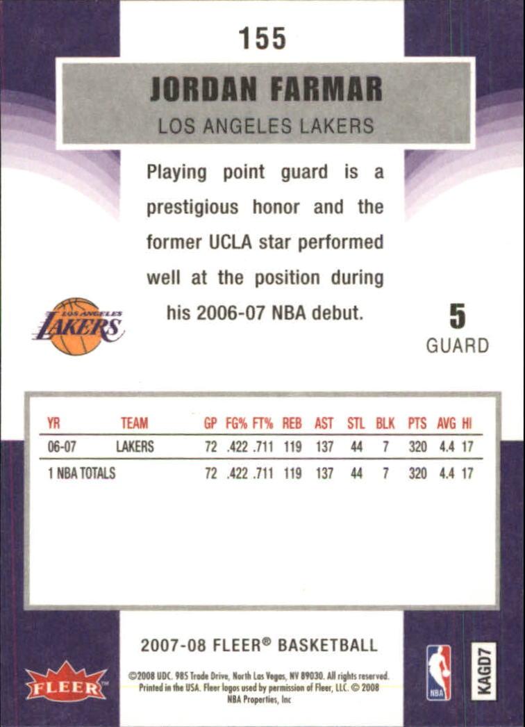 2007-08-Fleer-Basketball-1-250-Your-Choice-GOTBASEBALLCARDS thumbnail 279