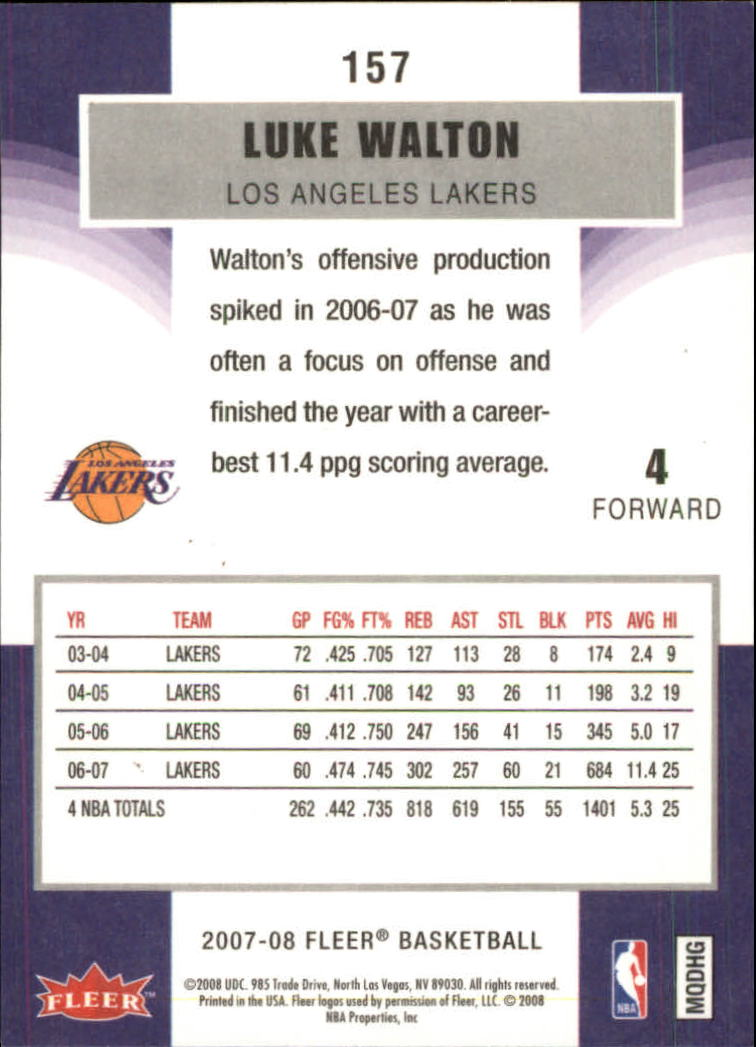 2007-08-Fleer-Basketball-1-250-Your-Choice-GOTBASEBALLCARDS thumbnail 283
