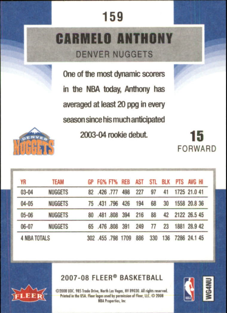 2007-08-Fleer-Basketball-1-250-Your-Choice-GOTBASEBALLCARDS thumbnail 285