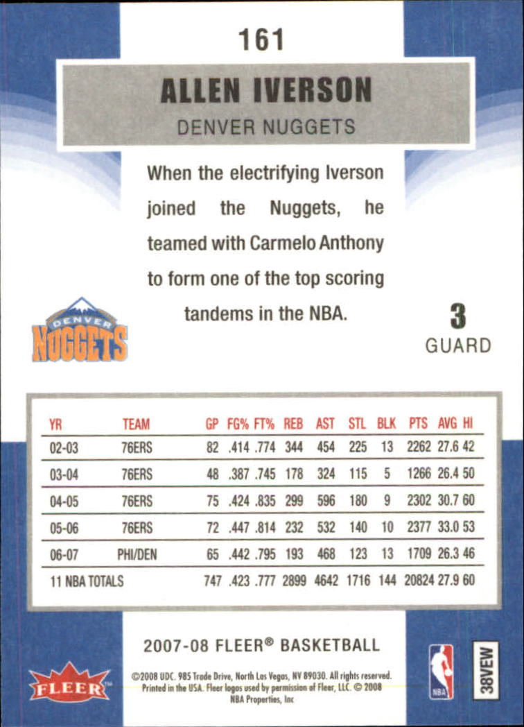 2007-08-Fleer-Basketball-1-250-Your-Choice-GOTBASEBALLCARDS thumbnail 289