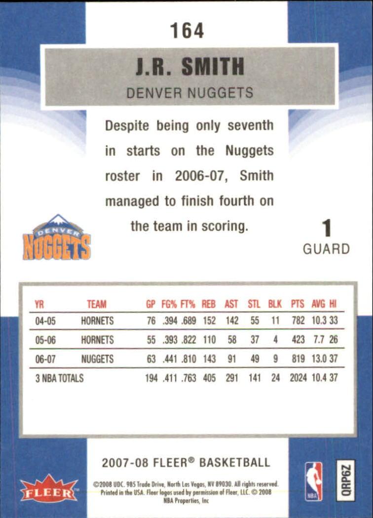 2007-08-Fleer-Basketball-1-250-Your-Choice-GOTBASEBALLCARDS thumbnail 295
