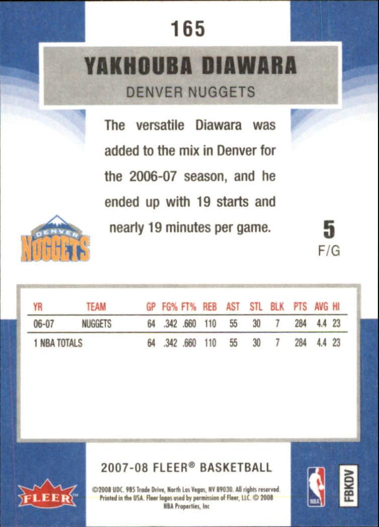 2007-08-Fleer-Basketball-1-250-Your-Choice-GOTBASEBALLCARDS thumbnail 297