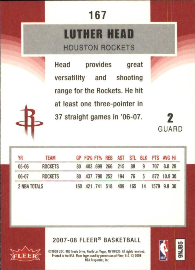 2007-08-Fleer-Basketball-1-250-Your-Choice-GOTBASEBALLCARDS thumbnail 301
