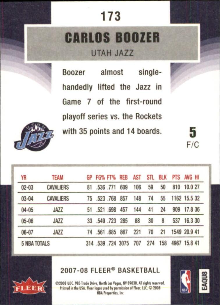 2007-08-Fleer-Basketball-1-250-Your-Choice-GOTBASEBALLCARDS thumbnail 311