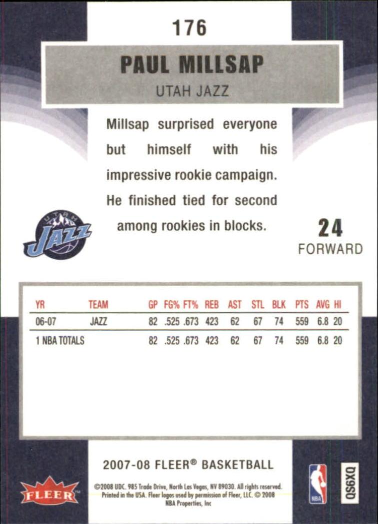 2007-08-Fleer-Basketball-1-250-Your-Choice-GOTBASEBALLCARDS thumbnail 317
