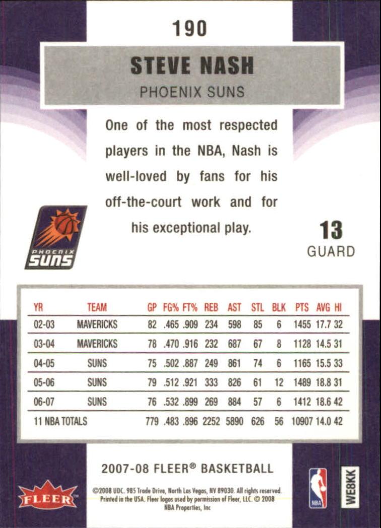 2007-08-Fleer-Basketball-1-250-Your-Choice-GOTBASEBALLCARDS thumbnail 341