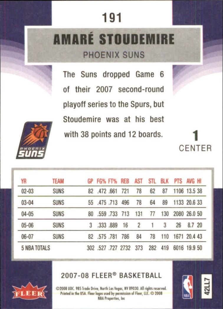 2007-08-Fleer-Basketball-1-250-Your-Choice-GOTBASEBALLCARDS thumbnail 343