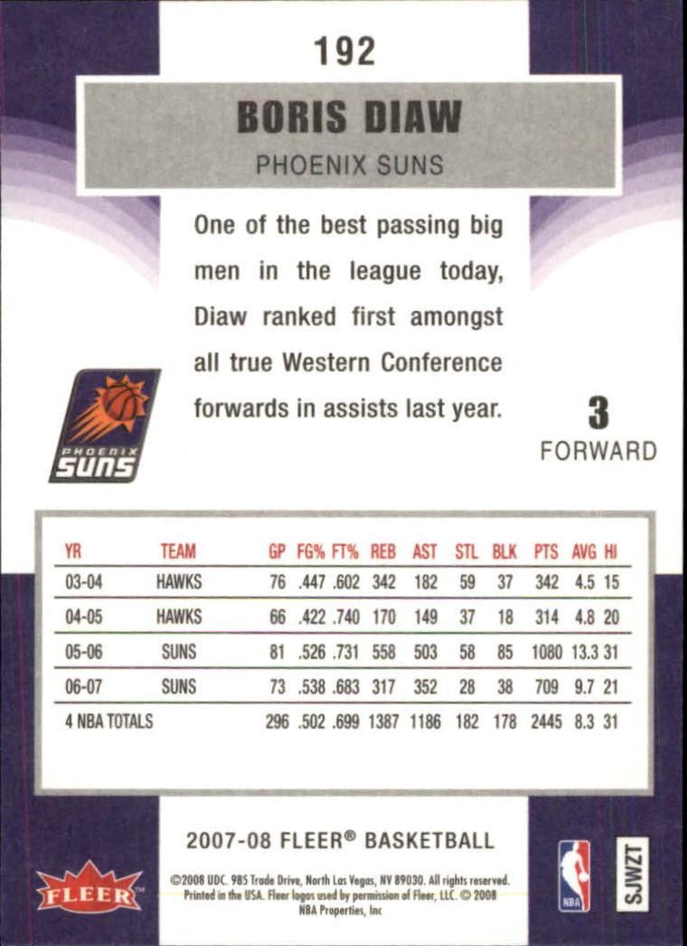 2007-08-Fleer-Basketball-1-250-Your-Choice-GOTBASEBALLCARDS thumbnail 345