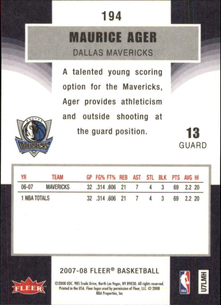 2007-08-Fleer-Basketball-1-250-Your-Choice-GOTBASEBALLCARDS thumbnail 349