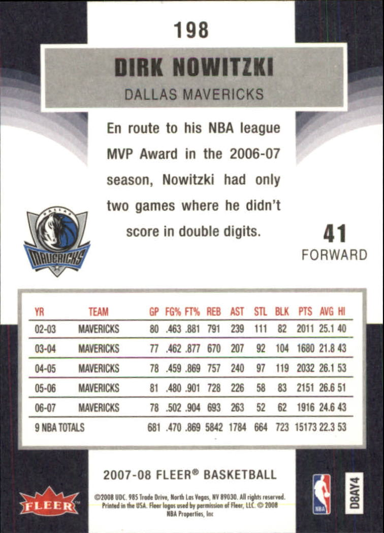2007-08-Fleer-Basketball-1-250-Your-Choice-GOTBASEBALLCARDS thumbnail 357