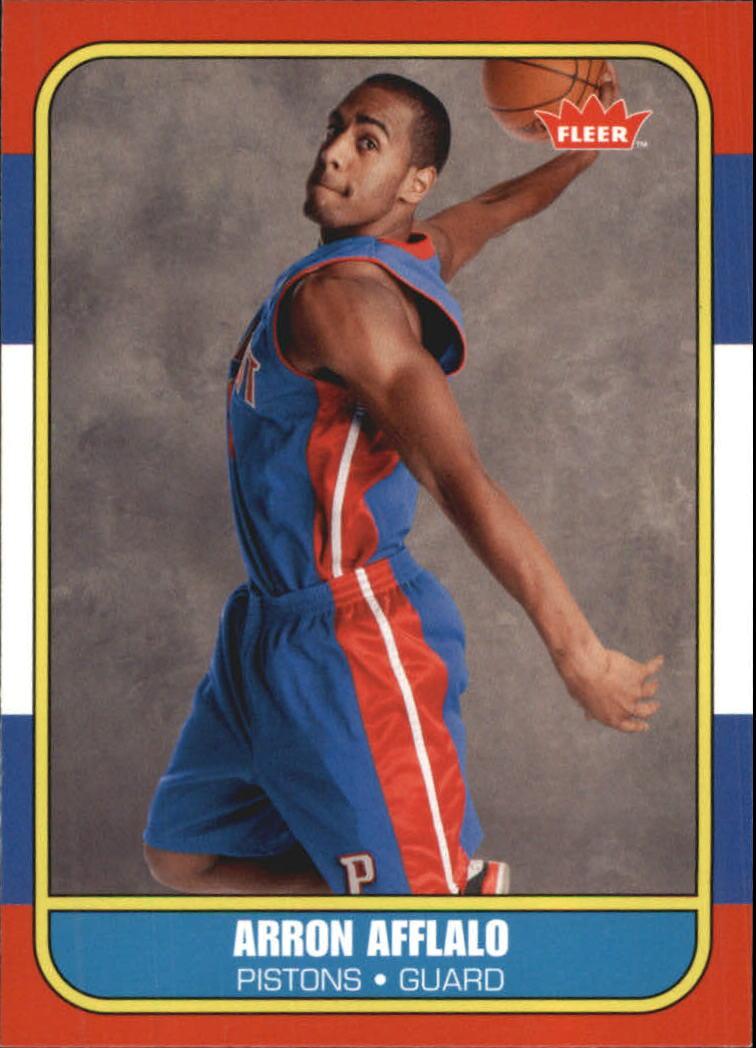 2007-08 Fleer 1986-87 Rookies #133 Arron Afflalo