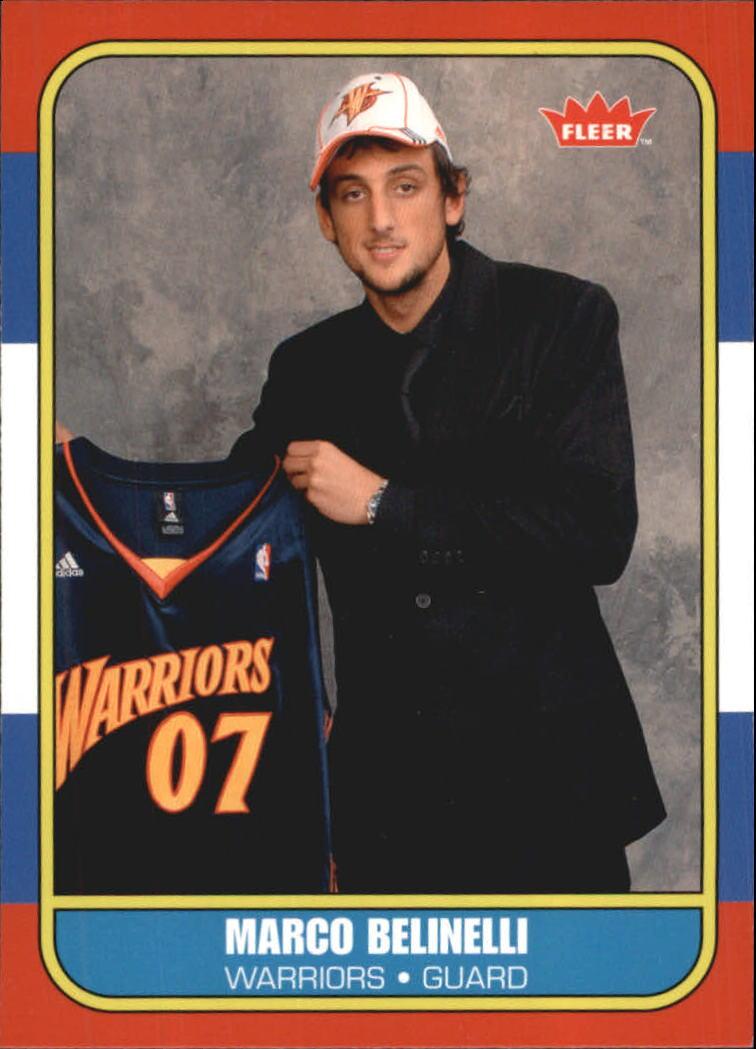 2007-08 Fleer 1986-87 Rookies #134 Marco Belinelli