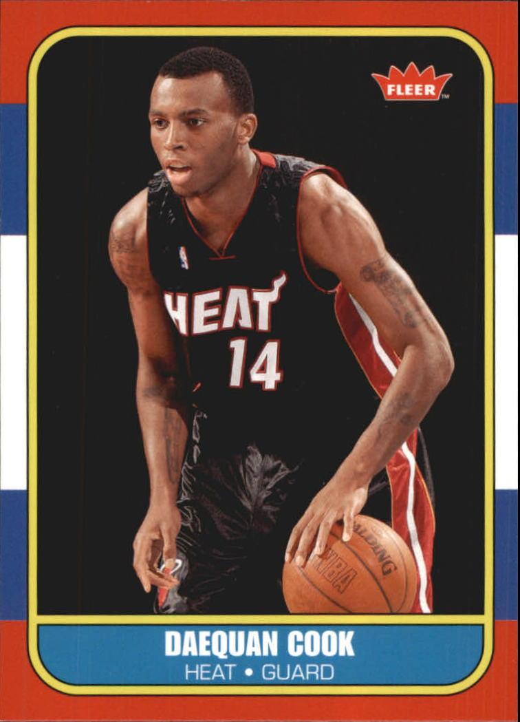2007-08 Fleer 1986-87 Rookies #139 Daequan Cook