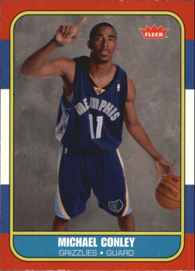 2007-08 Fleer 1986-87 Rookies Glossy #138 Mike Conley Jr.
