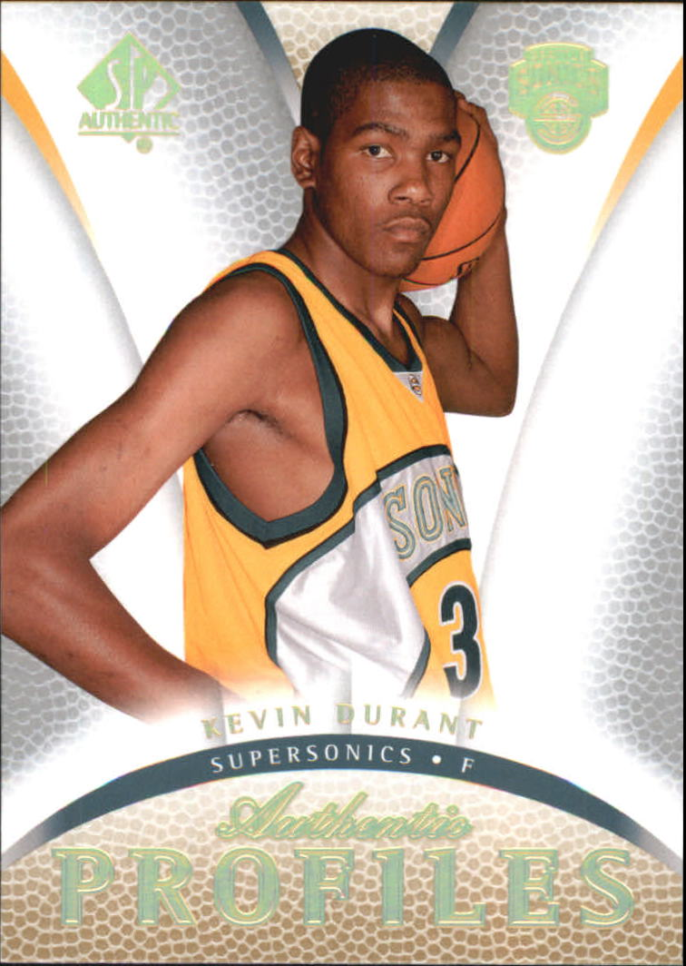 2007-08 SP Authentic Profiles #AP13 Kevin Durant