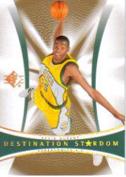 2007-08 SP Authentic Destination Stardom #DS1 Kevin Durant