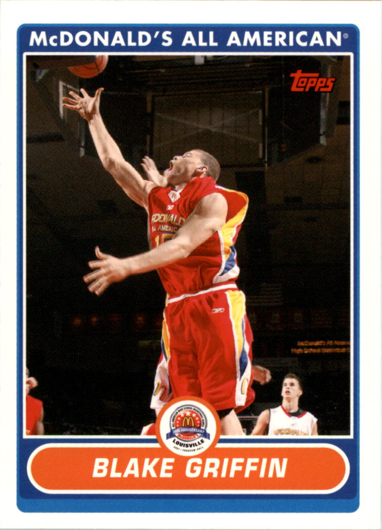 2007 Topps McDonald's All-American #BG Blake Griffin