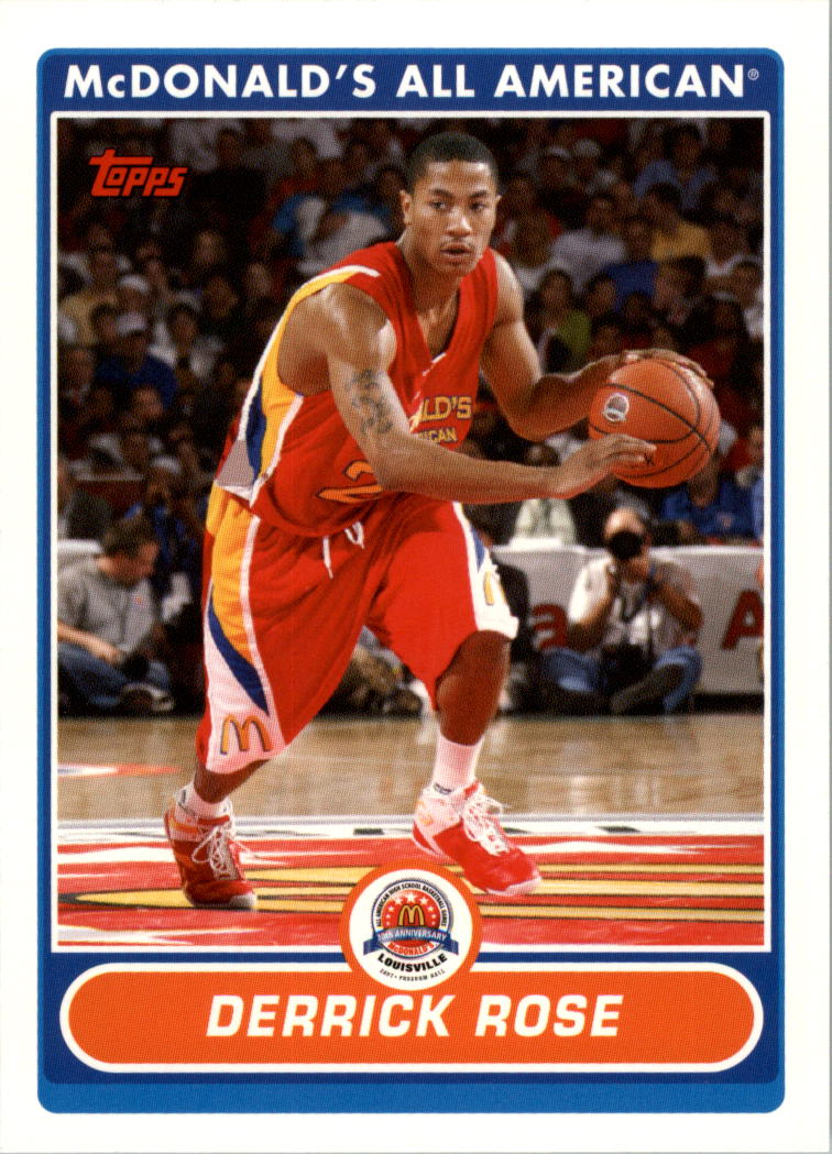 2007 Topps McDonald's All-American #DR Derrick Rose