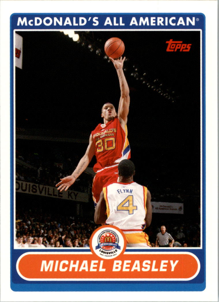 2007 Topps McDonald's All-American #MB Michael Beasley