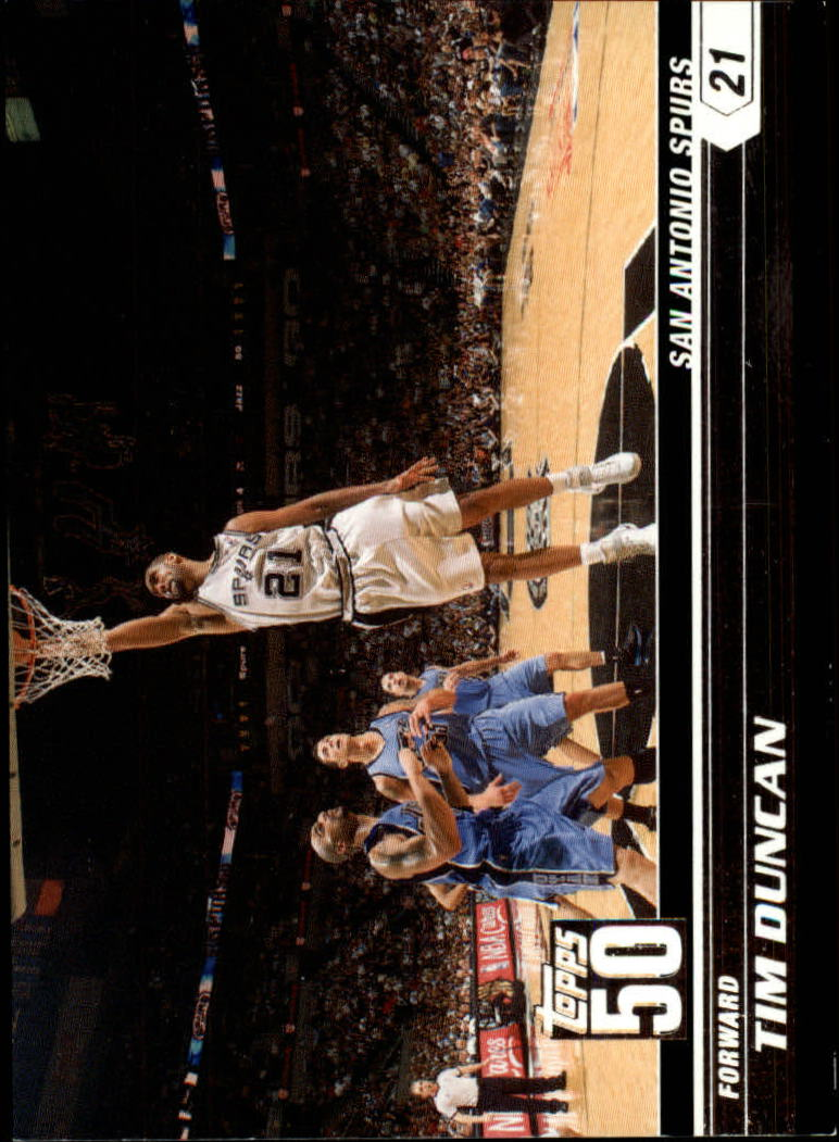2007-08 Topps 50th Anniversary #1 Tim Duncan