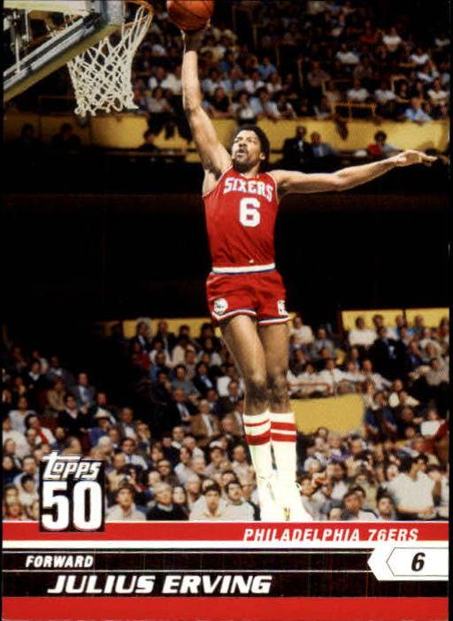 2007-08 Topps 50th Anniversary #49 Julius Erving