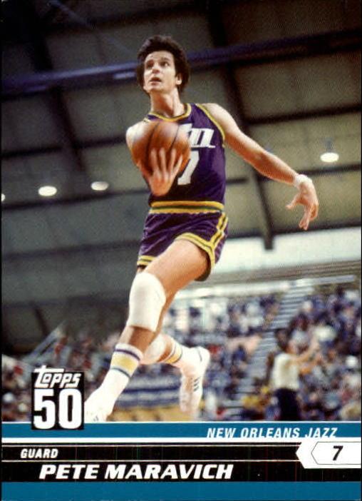 2007-08 Topps 50th Anniversary #50 Pete Maravich