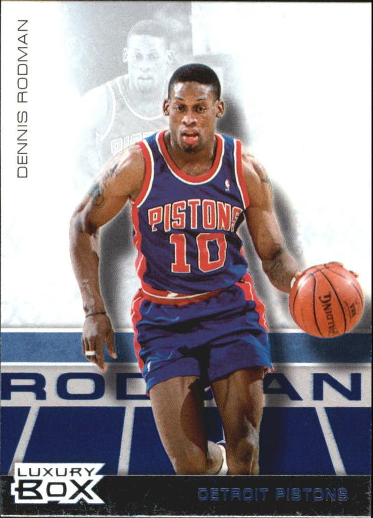 2007-08 Topps Luxury Box #38 Dennis Rodman