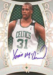 2007-08 Ultimate Collection Archetypal Autographs #XM Xavier McDaniel