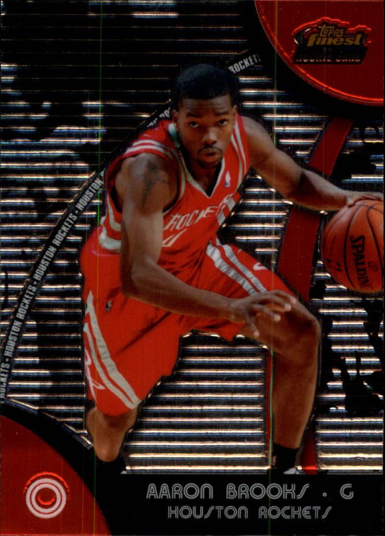 2007-08 Finest #75 Aaron Brooks RC