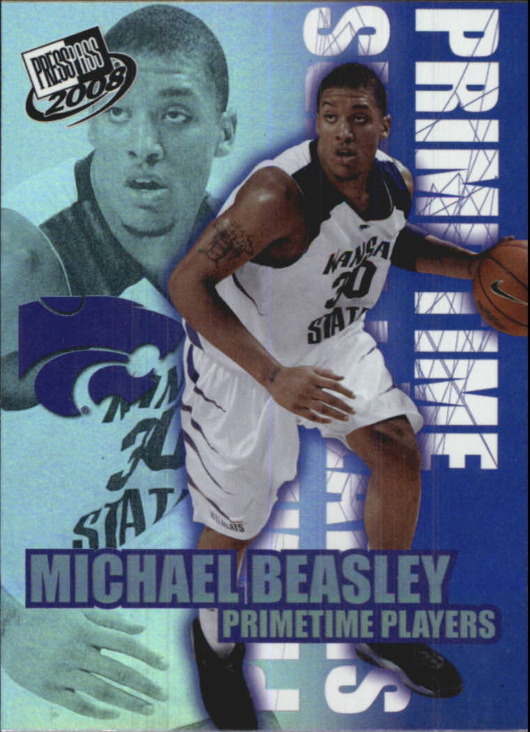 2008 Press Pass Primetime Players #PT7 Michael Beasley