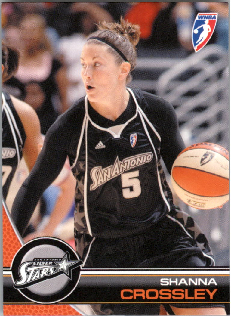 2008 WNBA #67 Shanna Crossley RC