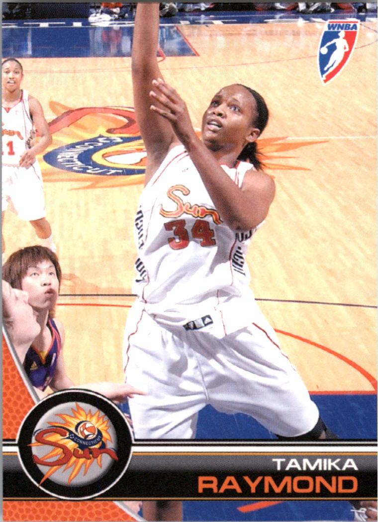 2008 WNBA #68 Tamika Raymond RC
