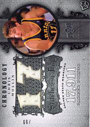 2007-08 Chronology Stitches in Time #CM Chris Mullin L