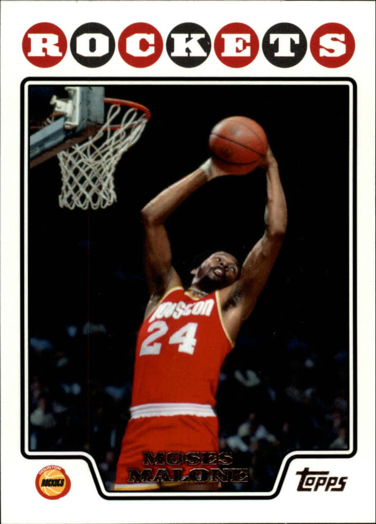 2008-09 Topps #176 Moses Malone