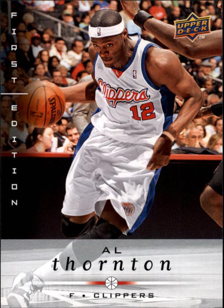 2008-09 Upper Deck First Edition #73 Al Thornton