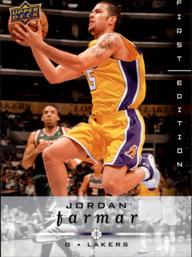 2008-09 Upper Deck First Edition #81 Jordan Farmar