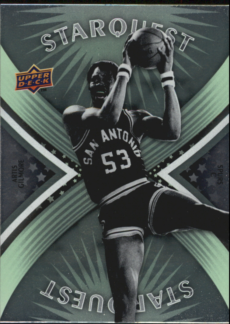 2008-09 Upper Deck First Edition Starquest Green #SQ14 Artis Gilmore