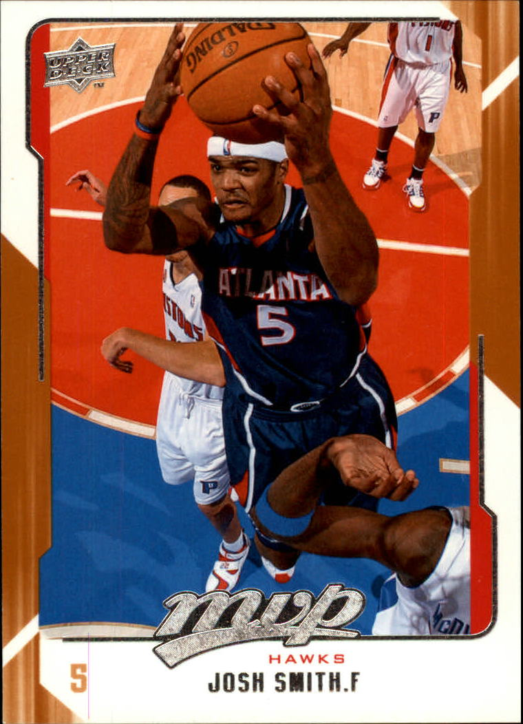 2008-09 Upper Deck MVP #6 Josh Smith